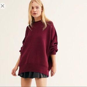 NEW! Free People Easy Street Tunic Sweater